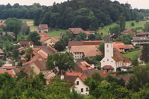 Kirche und Schönbühl